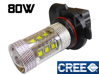Antibrouillard led HB4 (9006) - 80 Watts - CREE - Blanc 6000K