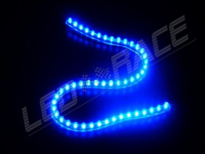 Ruban Led flexible - Etanche - 12v - Bleu