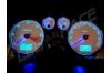 Ampoule Led T5 - 3 Leds - Bleu - W1.2W