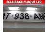 Pack led plaque peugeot 4007