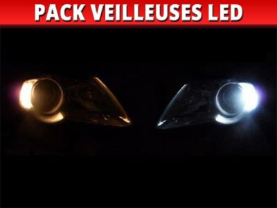 Pack veilleuses led renault clio 1
