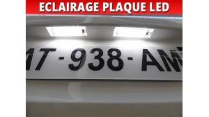 Pack led plaque Renault Kangoo II