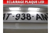 Pack led plaque renault megane 1