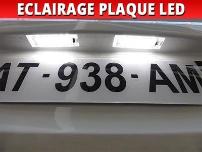 Pack led plaque renault megane 2