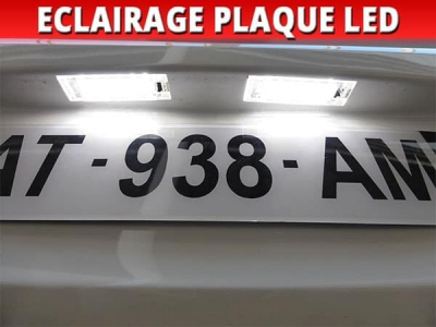 Pack led plaque renault trafic 2