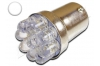 Ampoule Led R5W - R10W - 9 leds Ø 5mm - Blanc 6000K