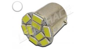 Ampoule Led R5W - R10W - 10 leds smd 5630 - Blanc 6000K