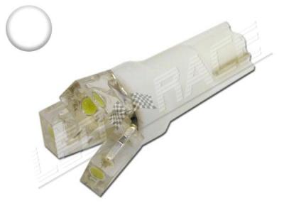 Ampoule Led T5 - 3 Leds - Blanc 6000K - W1.2W