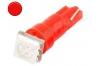 Ampoule led T5 - 1 Led smd 5050 - Rouge