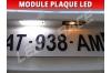 Pack modules plaque LED Peugeot 607