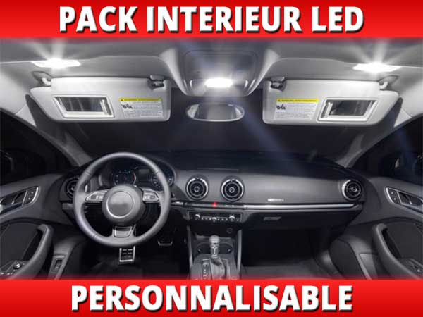 Pack interieur led pour opel adam for Interieur opel adam