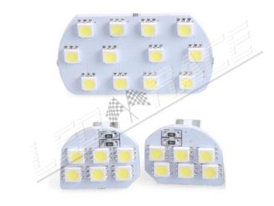 Plafonnier led 3 pièces - 24 leds smd 5050 - PEUGEOT - Blanc