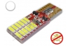 Ampoule Led T10 - culot W5W - 12 leds smd 4014 - SIDE 12 - sans erreur ODB - Blanc 6000k