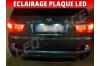 Pack led plaque BMW X5 E70