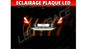 Pack led plaque Peugeot 208