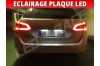 Pack led plaque peugeot 308 2