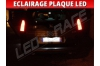 Pack led plaque peugeot 5008