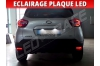 Pack led plaque renault captur