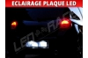 Pack led plaque renault clio 3