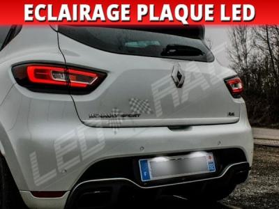Pack led plaque renault clio 4