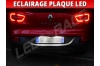 Pack led plaque renault kadjar