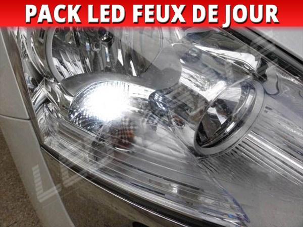 pack feux de jour led pour peugeot 5008 phares halog ne. Black Bedroom Furniture Sets. Home Design Ideas