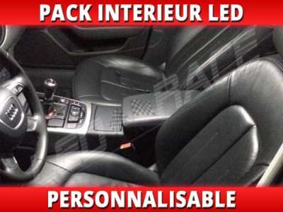 Pack interieur led pour Audi A6 C7 Berline