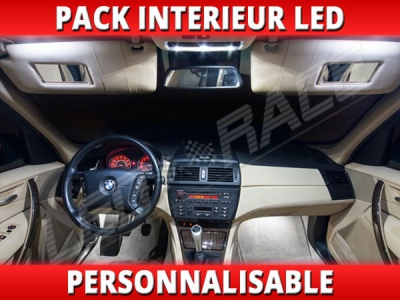 pack interieur led bmw x3 e83