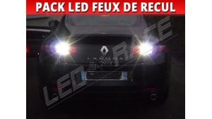 Pack ampoule led feux de recul Renault Laguna 3