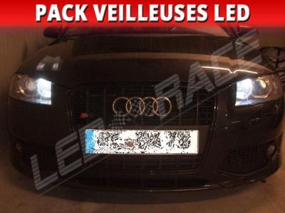 Pack veilleuses leds pour Audi A3 8P