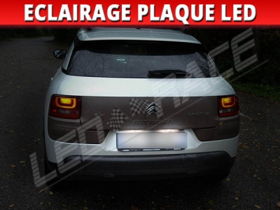 Pack led plaque citroen C4 cactus