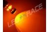 Ampoule Led P21W / BA15S - 65 Watts - Leds CREE - Orange