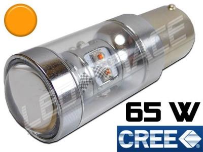 58e99433f58ed Ampoule Led PY21W / BAU15S - 65 Watts CREE - Orange