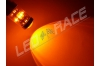 Ampoule Led PY21W / BAU15S - 65 Watts - Leds CREE - Orange