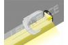 Eclairage coffre haute puissance reglette led 12v