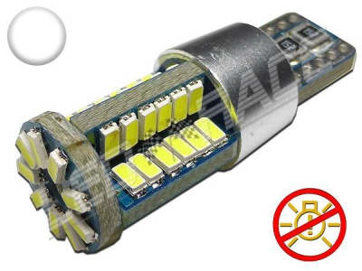 Led t10 w5w 52 smd 3014 canbus renforcé