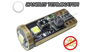 Ampoule T10 W5W 3 SMD 3030 Haute puissance - Blanc