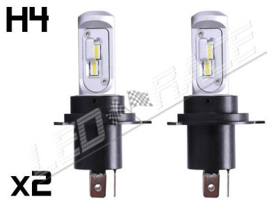 Mini Ampoule led phare haute puissance H4