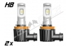 Mini Ampoule led phare antibrouillard H8 homologuée