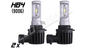 Pack 2 Mini Ampoules led HB4 9006 haute puissance Homologuées