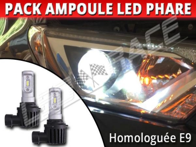 Phares Rav4 Iv Pack Led Hir2 9012 Pour Toyota Ampoules Homologuées DW2YeEH9I