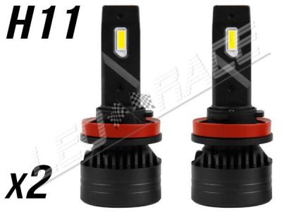 Pack 2 Ampoules led phare ventilées H11 - Anti-erreur ODB