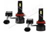 Pack 2 Ampoules led phare ventilées H16 - Anti-erreur ODB