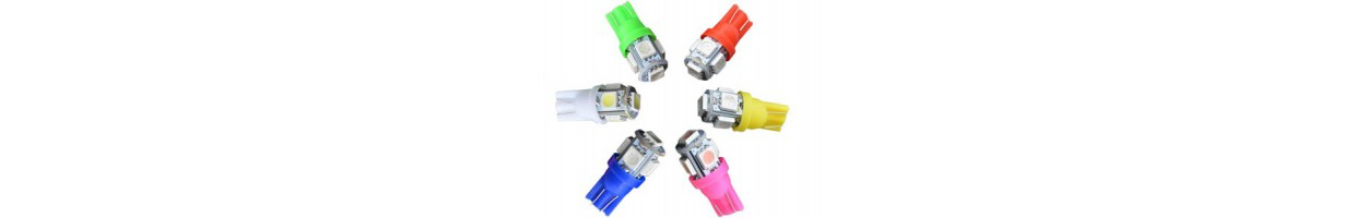 T10 - W5W Led Couleur