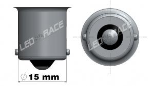 BA15S - P21W Led