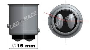BAZ15D - P21/4W Led