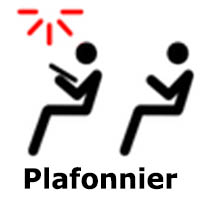 application plafonnier