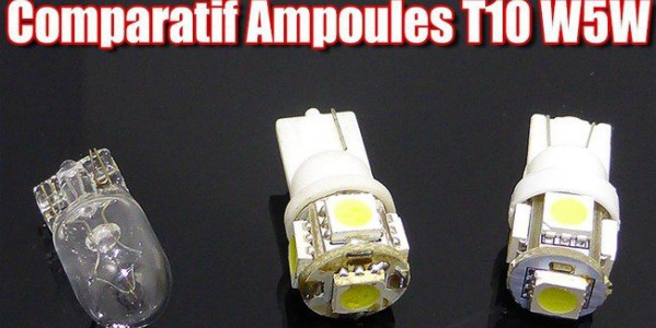 Comparatifs d'ampoules LED